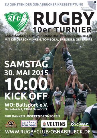 Rugby Turnier am 30.05.2017